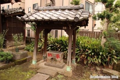 満足稲荷神社  文京区千駄木3