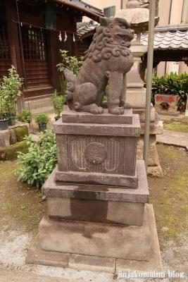 満足稲荷神社  文京区千駄木13