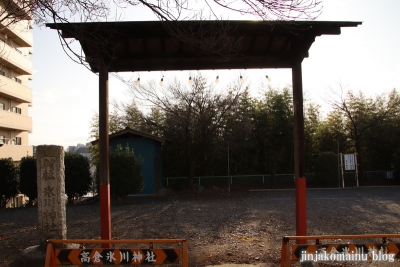 氷川神社  入間市高倉1