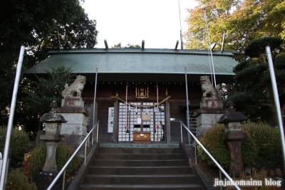 氷川神社  入間市高倉7