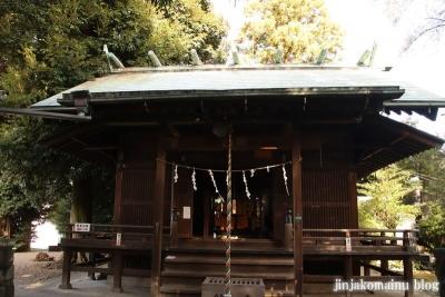 中野原稲荷神社  入間市上小谷田8