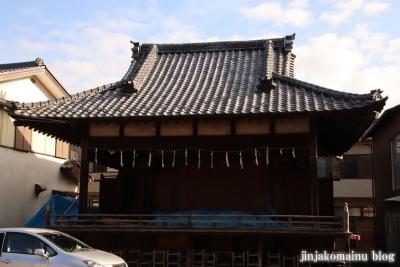 中野原稲荷神社  入間市上小谷田14