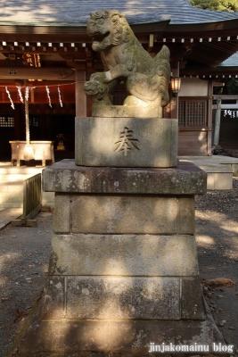 氷川神社  入間市大字小谷田13