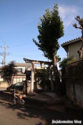 霞川稲荷神社  入間市大字小谷田1