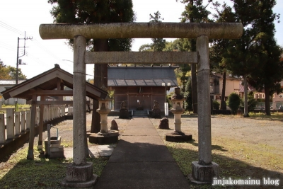 赤城神社   飯能市阿須3