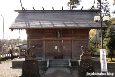 赤城神社   飯能市阿須5