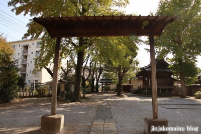 八坂神社  入間市仏子4