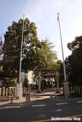 八坂神社  入間市仏子1