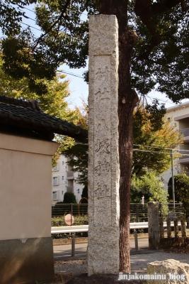 八坂神社  入間市仏子2