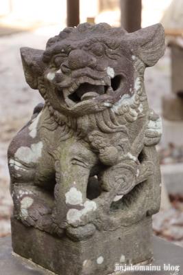 庚申神社  入間市仏子4