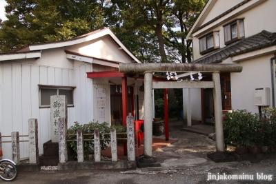御嶽神社  狭山市笹井1