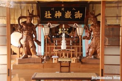 御嶽神社  狭山市笹井5