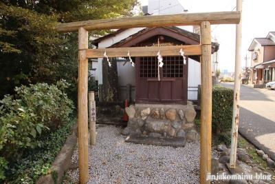 御嶽神社  狭山市笹井6
