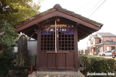 御嶽神社  狭山市笹井8