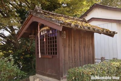御嶽神社  狭山市笹井9