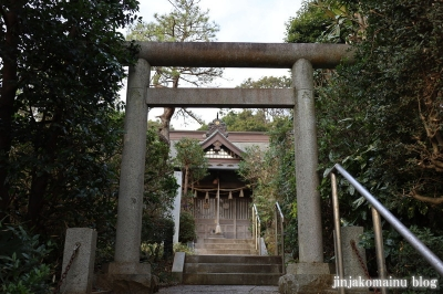鶴島天神社 藤沢市亀井野3