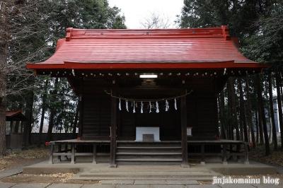 氷川神社  清瀬市中里7