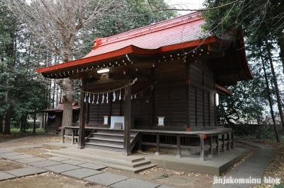 氷川神社  清瀬市中里8