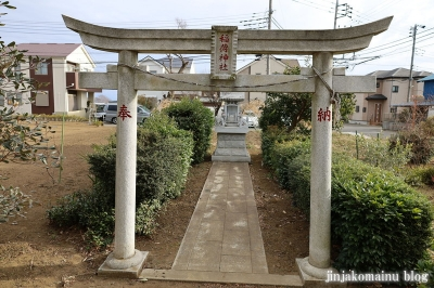 稲荷神社  清瀬市下清戸2