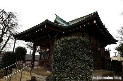 門前氷川神社  東久留米市氷川台7