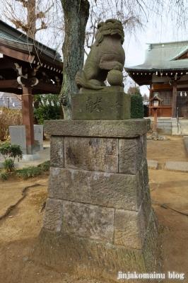 門前氷川神社  東久留米市氷川台14