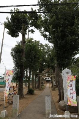 阿波洲神社  西東京市新町1