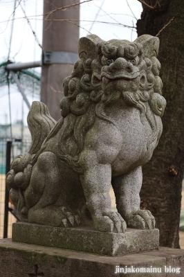 阿波洲神社  西東京市新町6