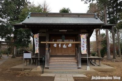 阿波洲神社  西東京市新町8