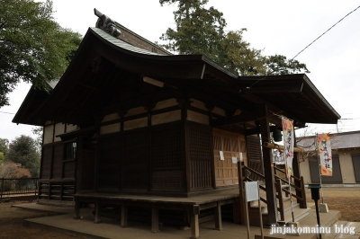 阿波洲神社  西東京市新町10