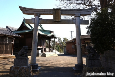 御霊神社 藤沢市羽鳥8