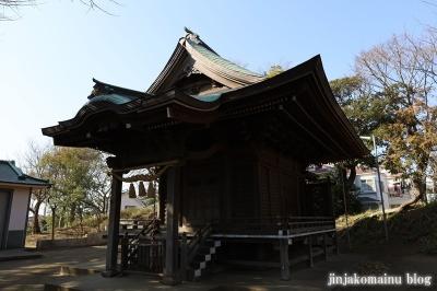 室田八王子神社 茅ヶ崎市室田5