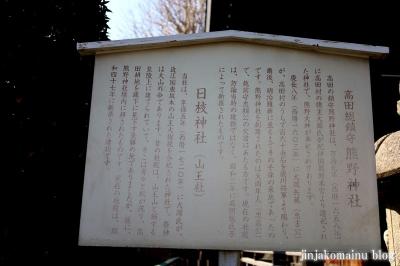 熊野神社 茅ヶ崎市高田12