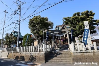 八王子神社 茅ヶ崎市本村1
