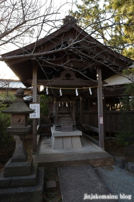 第六天神社 茅ケ崎市十間坂22