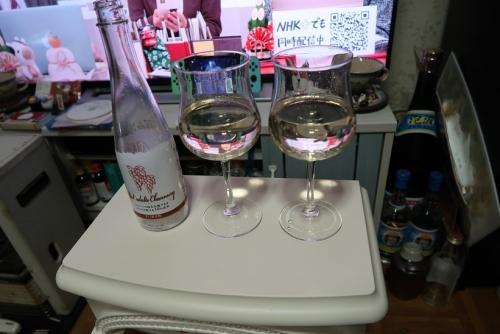 大人のシャンメリーで年明け乾杯!