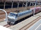 EF66-126号機 横浜羽沢駅にて