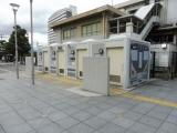 JR日根野駅 225系5000番台のトイレ