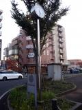 東武越谷駅 ロータリークラブ創立100周年記念時計台