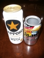 生ジョッキ缶 黒ラベルで実験