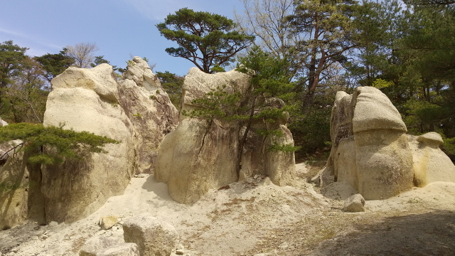 キノコ岩0425