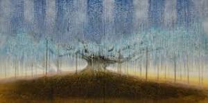 西田俊英「華は根っこあってこそーあしかがの大藤」