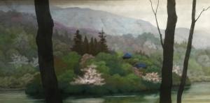 湖畔(中土井 滋)