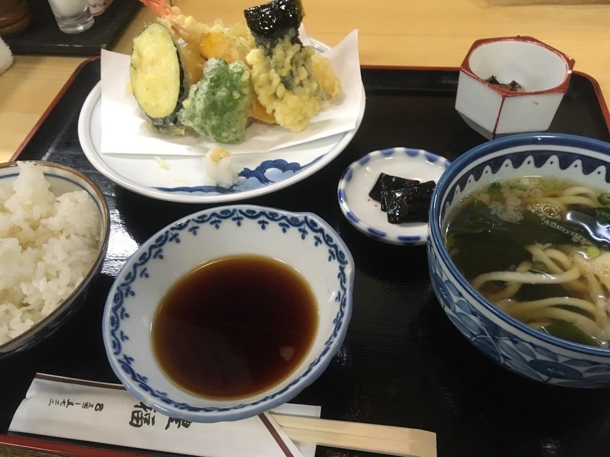 豊福天ぷら定食