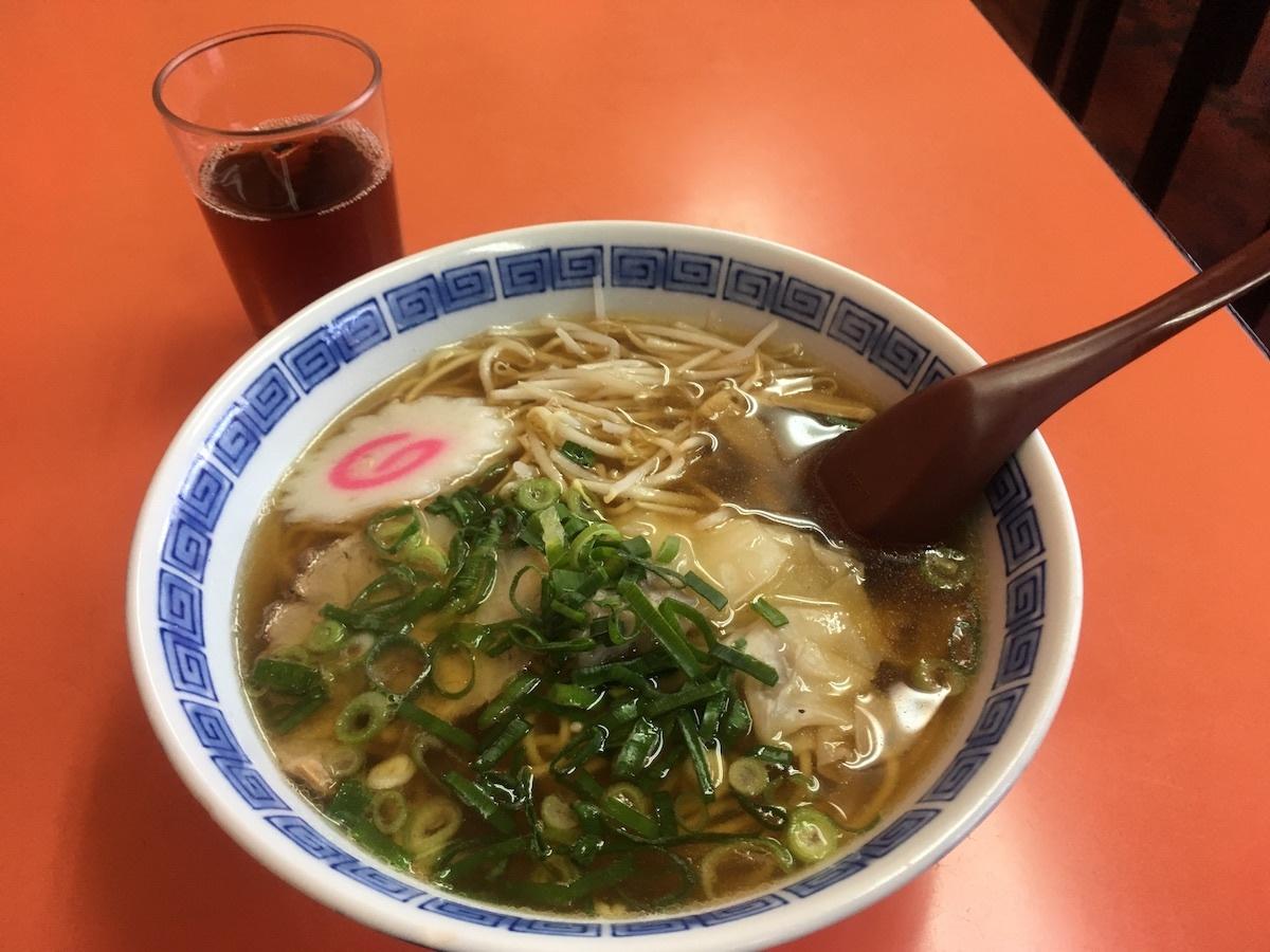 16ふじたワンタン麺