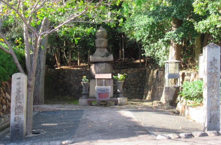 平敦盛墓碑