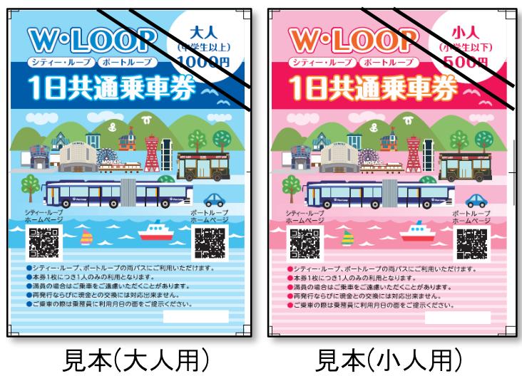20210809WLOOP乗車券