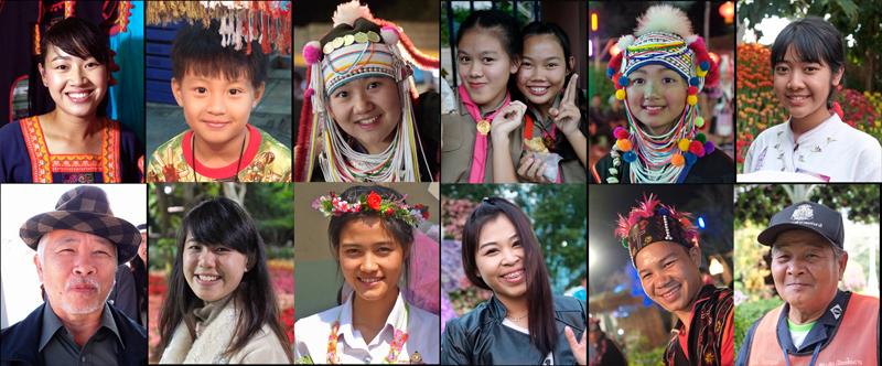 タイの人の微笑み集