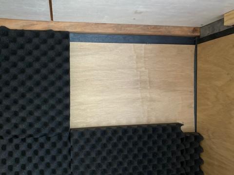 押入れ机化に伴う防音対策