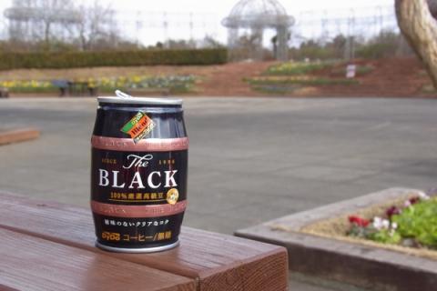フラワーガーデンの缶コーヒー