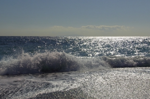 冬の御幸の浜